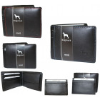Beautiful men's leather wallet NC49 RFID color
