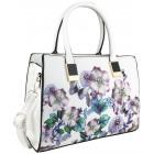 Women's handbag with flowers FB223 city bags