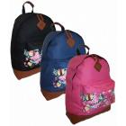 BP241 Flowers pocket Backpack School HIT