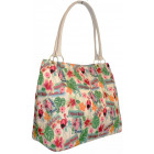 Shoulder bag A4 Flamingos CB189
