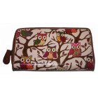 PS81 Owls Lacquered Women's Wallets Wallets