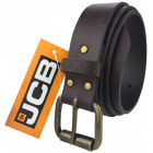A thick leather men's belt from JCB JCB4 Black