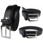 Men's belt black BT09 Men's belt trousers