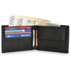 Elegant men's wallet natural leather NC30
