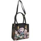 Damen Handtasche mit Blumen FB224 Urban Handtasche