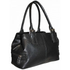 Handbag women's trunk 1254 Black