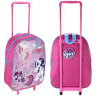 Suitcase with My Little Pony wheels