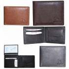 NC41 Natural Leather Men's Wallet Elegant