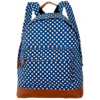 CB162 Kropki ladies city school backpack
