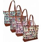 004 bolsos de mujer bolsos de brillo de mariposa