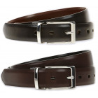 M & S men's belt SML double-sided BLACK /