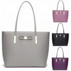 Beautiful fashionable women's handbag, bow 233