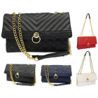 Purse quilted shoulder chanelka 2 chamber FB268