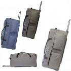 Travel suitcase on wheels TB03 Tweed XL 78