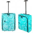 TB05 Print Travel Suitcase sobre ruedas super lige