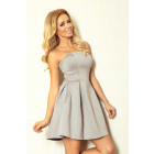 CORSET DRESS WITH FOAM - GRAY