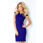 132-1 DRESS WITH kisses - cornflower