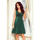 238-2 BETTY flared dress with a neckline