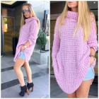 Boho sweater, golf, quality, producer, purple