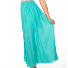 Long skirt, pleated, airy, unisize