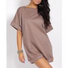 Tunic, blouse, dress with binding, unisize