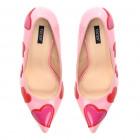 Shoes, heels, high heels, lips, dark pink