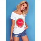 T-Shirt DE LUX: sobreimpresión de vacaciones, top,