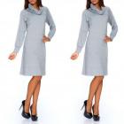 Dress, golf, long sleeve, manufacturer, gray