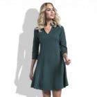 Dress, elegant, simple, quality, green
