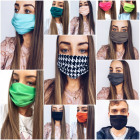 10x Mask. Face mask. Streetwear mix. Patterns