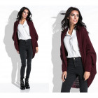 Cardigan, sweater, cape, quality, burgundy
