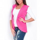 Vest, cape, producer, quality, magenta