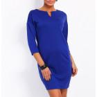 Dress with slit, Chabrowa, quality, S / ML / XL