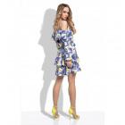 Summer dress, leaves, producer DE LUX
