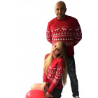Christmas sweater, gift, women's red