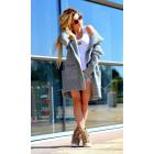 Hoodie, jacket, high quality, gray