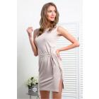 Dress, knitwear, DE LUX, mocca