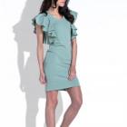 Dress, valance, simple, producer, olive
