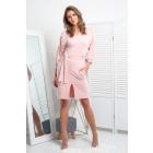 dress, cut, binding, DE LUX, powder pink