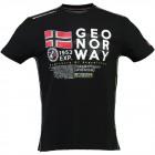 T-Shirt Mann Geograohical Norwegen