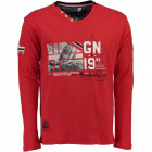 Men's Long Sleeve T-Shirt Geographical Norway