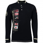 Langarm - Polo - Männer Geographical Norway