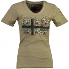 T-Shirt Frau Geographical Norway