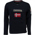 T-Shirt Langarm Geographical Norway