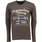T-Shirt de manga larga Hombres Geographical Norway