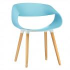 Design krzeseł dla 4 osób