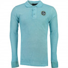 Geographical Norway Men's Long Sleeve Polo Geo