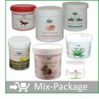 Mix-Package Apotheke: Naturheil-Cremes Top 7