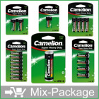Mix-Package: Camelion Batterien Top15 im Blister