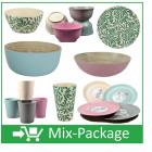 Mix-Package Bambus Geschirr TREND